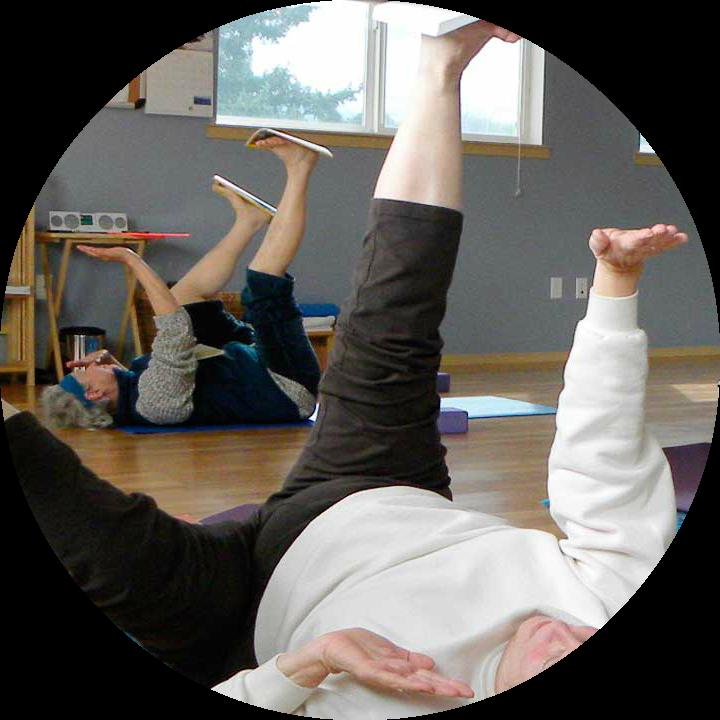 Awareness Through Movement Feldenkrais Method Journeys Through Movement Katherine Wieseman-circle