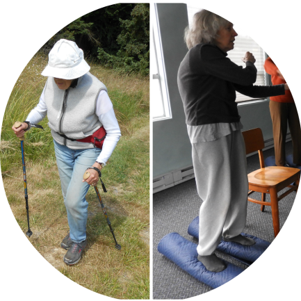 Katherine Wieseman teaches Walk for Life - Solutions for Optimal Mobility - Ruthy Alon Programs